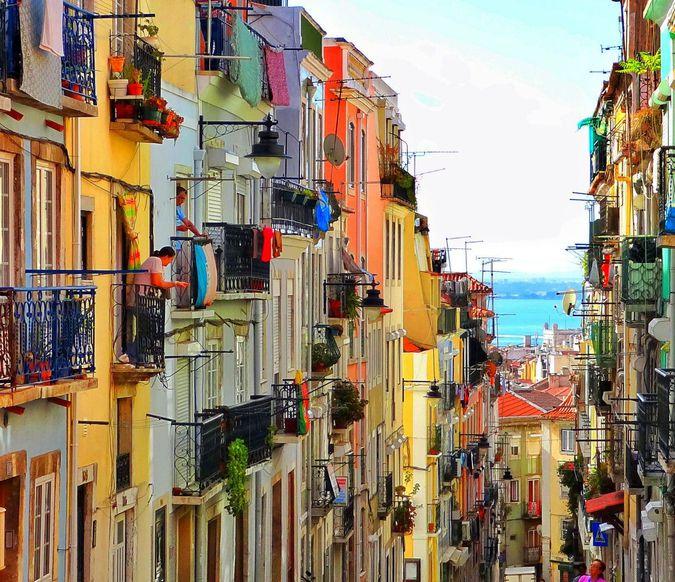Lisbona Passeggiata