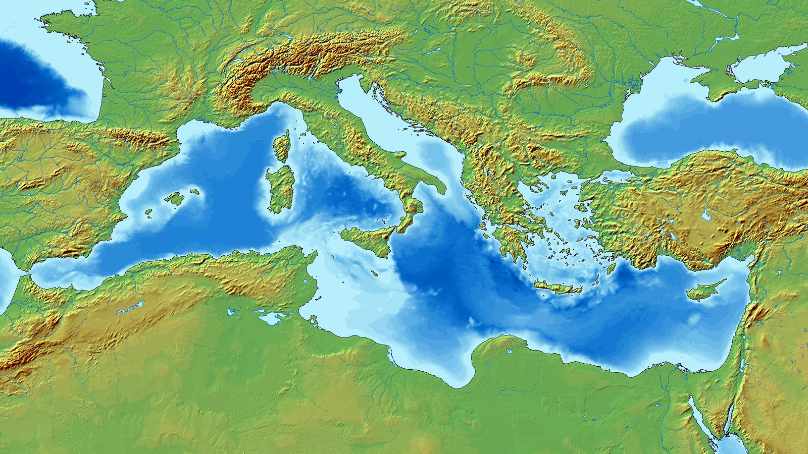 Mare Mediterraneo Cartina.Un Mare Di Soldi