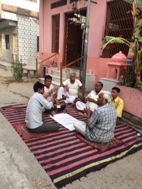 Per strada cercando la casa con Chandan 1