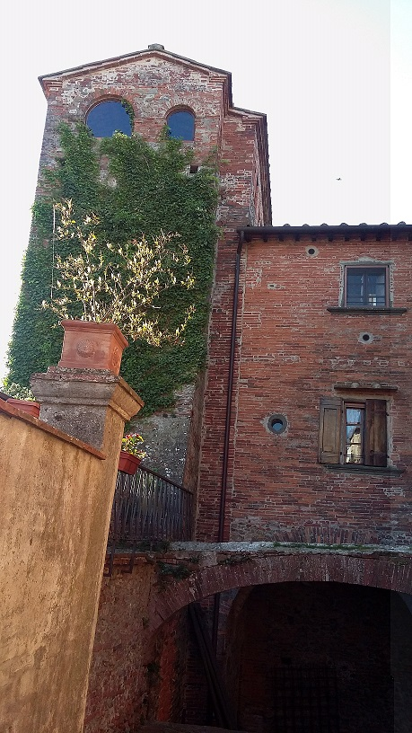 Scorcio di Montecarlo di Lucca
