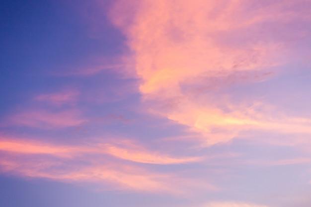nuvole sottilrosa